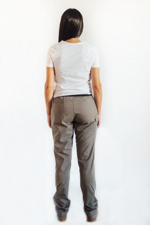 Pantalón cocina unisex gris