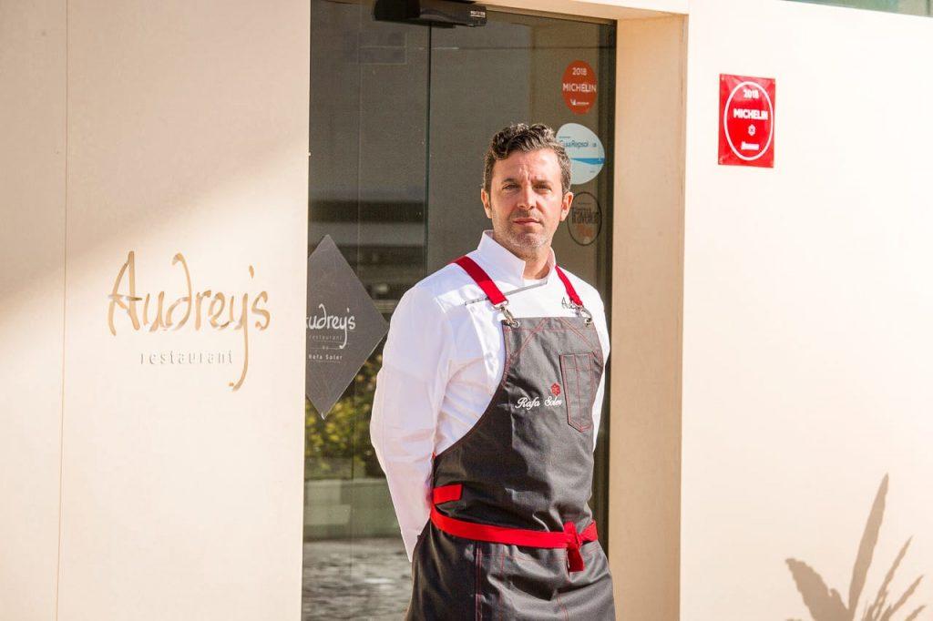 Rafa Soler, el primer chef con Estrella Michelin de Calpe