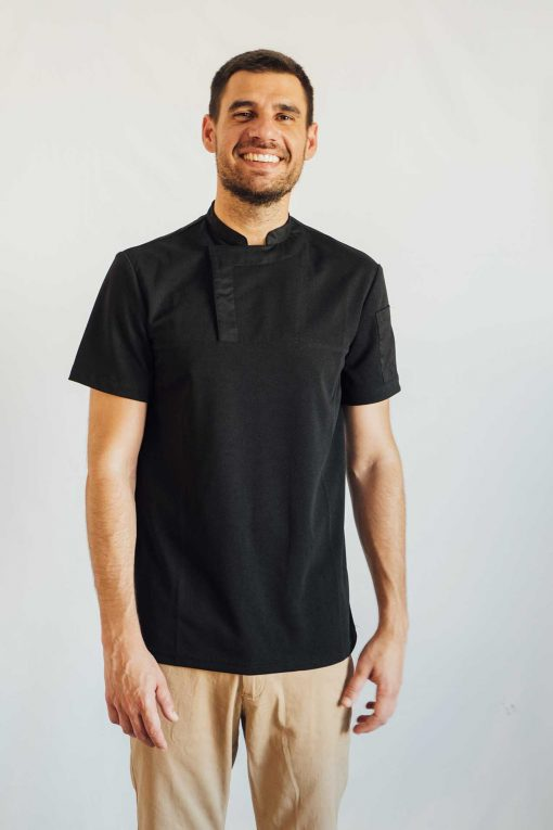 Camiseta hostelería negra