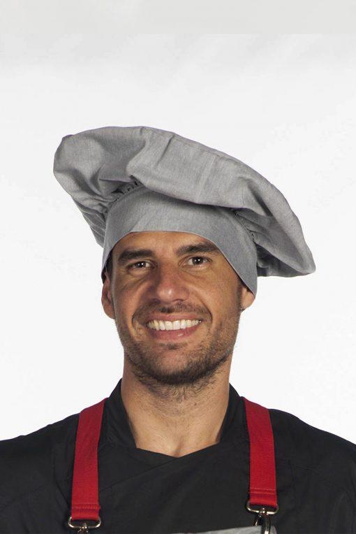 Gorro cocina con velcro posterior